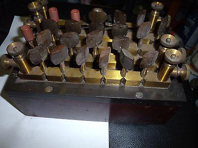 lab.resistance box vintage transmitter W.S. Steljes decade war wheatstoneBridge