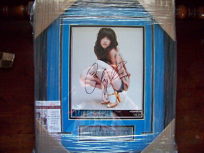 Carly Rae Jepsen Call Me Maybe Signed Auto 8X10 Photo Framed   Matted Jsa Coa