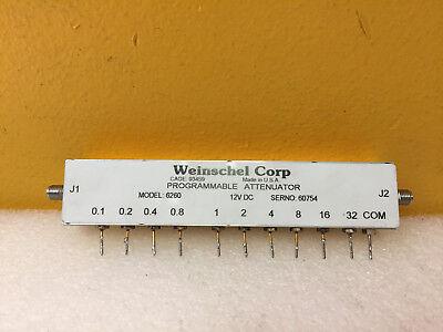 Weinschel 6260 3209-1 Dc To 3.0 Ghz 64.5 Db Sma F-f Attenuator. Tested