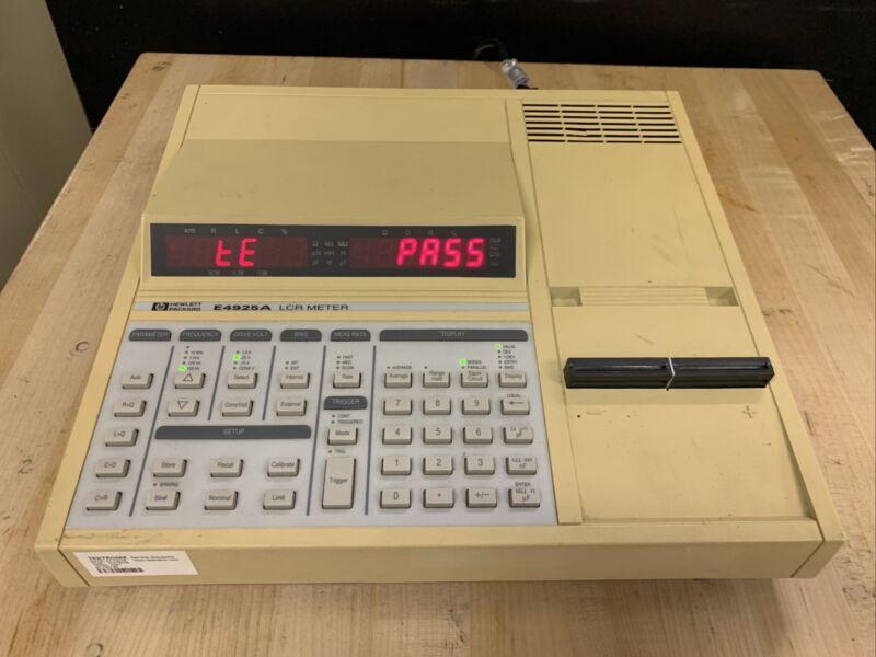 HP Agilent E4925A LCR Meter