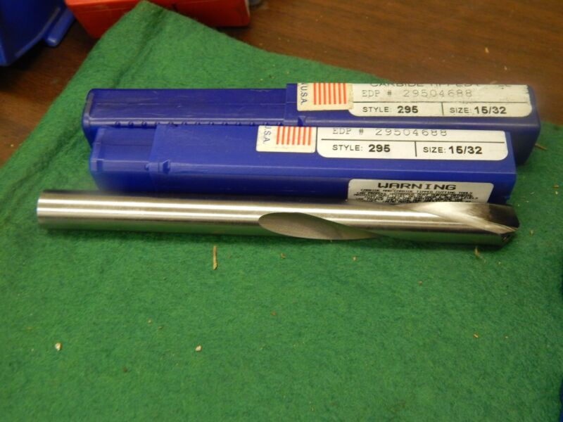 """CJT KOOLCARB .4688"""" Carbide Tipped Coolant Feed Drill"""