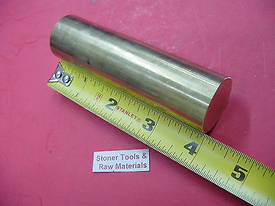 1-18 C360 Brass Solid Round Rod 4 Long New Lathe Bar Stock 1.125x 4 H02