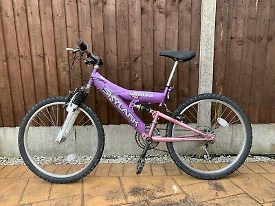 Purple girl's Bike for ages 9-14