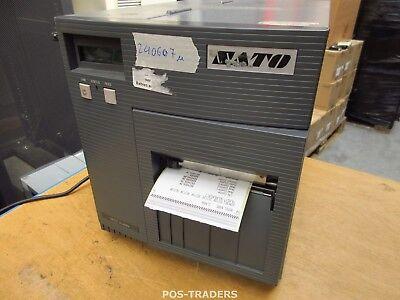 """SATO CL408E Parallel Thermo Label Drucker REWINDER 203dpi 4.1"""" 104mm - 24060.7 M"""
