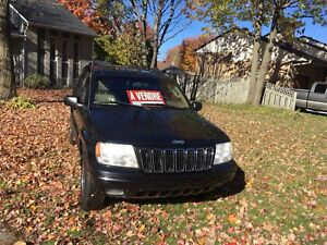 Jeep Grand Cherokee limited V8 4.7ltr