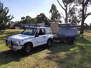 4X4 12 month nsw rego suzuki vitara jx 1.6 and offroad trailler Sydney Region Preview