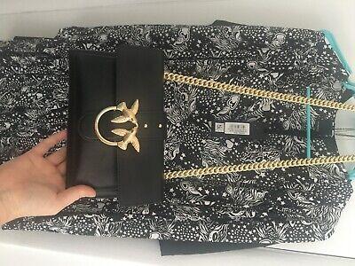 Women's Accessories Pinko Love Mini Soft Simply Black Crossbody Bag SS2020