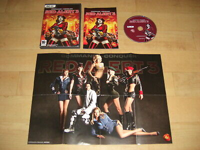 COMMAND & and CONQUER RED ALERT 3 Pc DVD Rom Inc C&C Poster - FAST (Command And Conquer Red Alert 3 Pc)