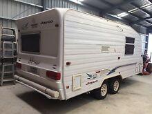 Jayco Heritage 2002 caravan 19ft twin axel semi off-road Narre Warren Casey Area Preview