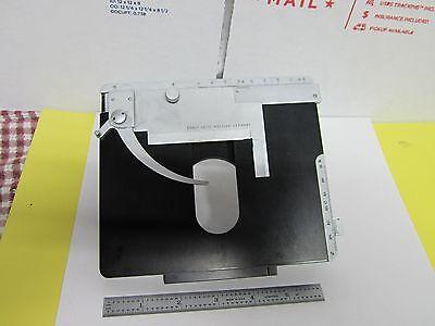 Microscope Part Leitz Wetzlar Table Micrometer Ortholux Optics As Is Binh8-21