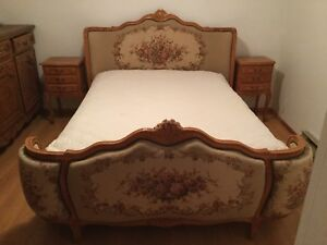 LOUIS XV design bedroom - 5 pieces
