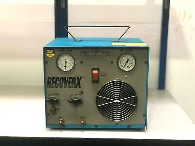 Ritchie Yellow Jacket Recoverx R-100 Refrigerant Recovery System