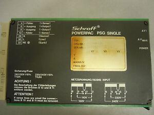 Schroff Powerpac PSG 124 - Oberösterreich, Österreich - Schroff Powerpac PSG 124 - Oberösterreich, Österreich