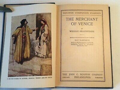 The Merchant of Venice: Companion Classics Edition (1925, Hardcover)