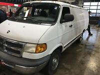 2001 Dodge  HEAVY  DUTY 3/4 TONNE EXTENDED WORK VAN ONLY 74K London Ontario Preview