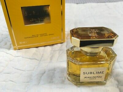 Sublime Jean Patou EDT 30 ml open in a box