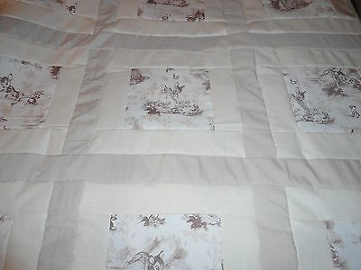 BAMBI - THUMPER  BABY QUILT  36 x 35