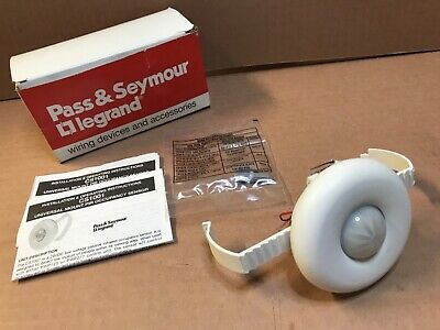 Pass Seymour Legrand Cs1001 Occupancy Sensor 24vdc Ceiling Mount New