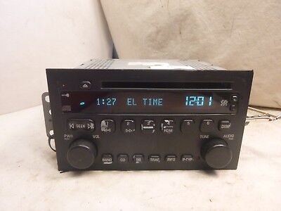 04 05 2004 2005 Buick Century Radio Cd Player 10346985 CYP18