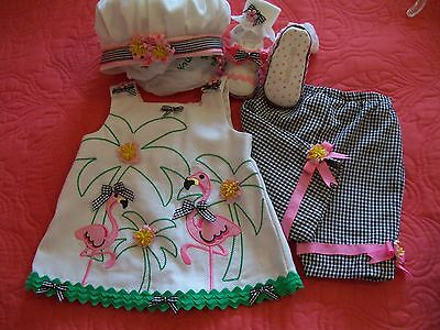 National Baby Pageant Casual Wear,Spring, OOC  3-9 mts. 5 pc. Winner! All U Need for sale  Shipping to Canada