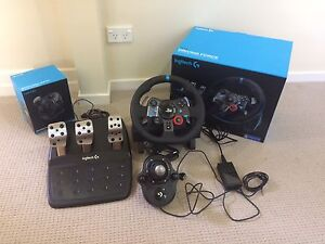 Logitech G29 Steering Wheel & Pedals plus Gear Shifter Seven Hills Brisbane South East Preview