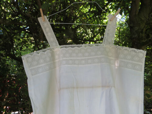 Unworn Antique Nightgown Nightshirt  Pretty Lace US-$ 29.90