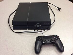 PS4 and controller, games sold separate.