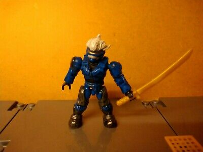 Mega Bloks Halo Blue Hayabusa , MEGA CONSTRUX. segunda mano  Embacar hacia Spain