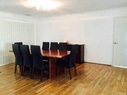 Margaret River Jarrah Dinning Table  incl. 8 Chairs Alkimos Wanneroo Area Preview
