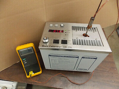 Ametek Block Calibrator Db-35l Calibrator Standard Tested