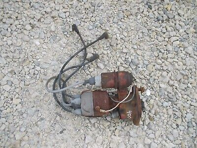 Farmall 400 450 Ih Ihc Tractor Engine Motor Distributor Drive Assemly - Wires T