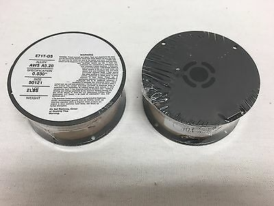 2 Rolls 2lb Ea .030 E71t-gs Flux Cored Gasless Steel Mig Weld Wire Comeaux