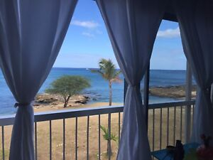 1 bed Ocean Front Condo on Oahu's westside