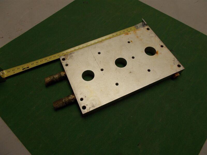 "Liquid Cooled Aluminum HeatSink Approximately 9""x 5.5""x 1"""