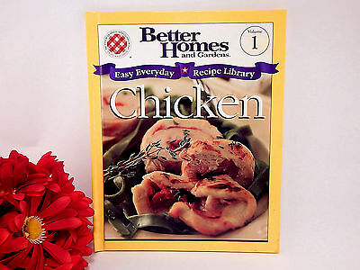 Chicken Cook Book Better Homes   Gardens Easy Everyday Recipe Library Hardcover