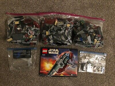LEGO Star Wars UCS SLAVE I (75060) 99.9% Complete