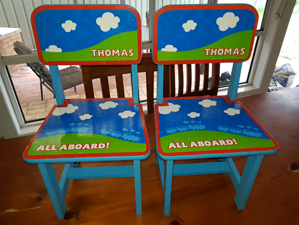 2 x Thomas The Tank Engine Chairs