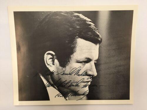 "SENATOR & PRESIDENTIAL CANDIDATE EDWARD ""TEDDY"" KENNEDY SIGNED & INSCRIBED PHOTO"
