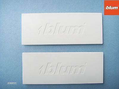 Pack of 10 Blum Tandembox Antaro Intivo, Drawer Cover Caps, White logo ZAA.532