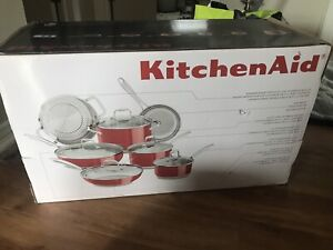 Kitchen aid stainless steal cookware
