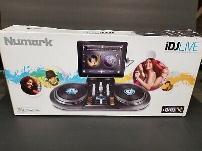 Numark, iDJ Live, DJ Controller iPad, iPhone, iPod Touch (30-pin), NEW Open Box for sale  Shipping to South Africa