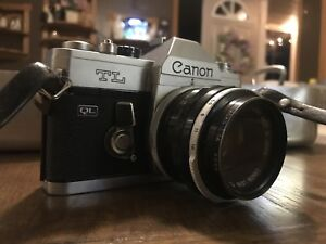 VINTAGE WORKING CANON TL 35MM CAMERA!!!