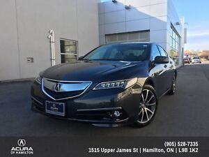 2015 Acura TLX ELITE PACKAGE! SUPER LOW KMS!