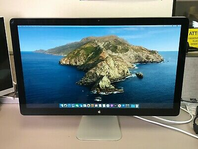 "APPLE THUNDERBOLT A1407 DISPLAY 27"" LED LCD w/ SPEAKER & STAND 2560 x 1440"