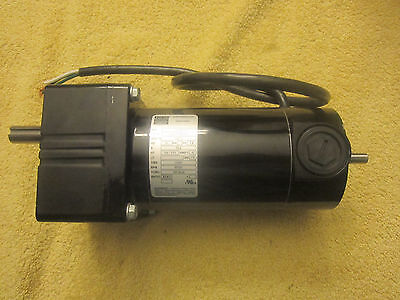 BODINE ELECTRIC COMPANY GEARMOTOR 33A5FEPM-WX3 1/4/11 HP 5721 RPM 43.9:1 157 TOR