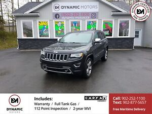 2015 Jeep Grand Cherokee Overland 4X4! OVERLAND! LOADED! FINA...