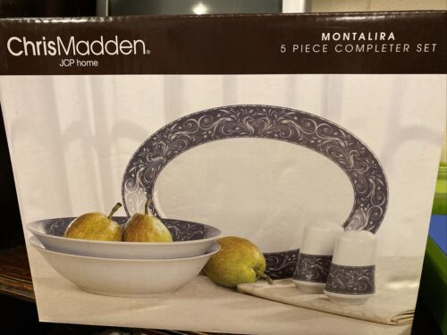 Chris Madden 5 Piece Completer Set Gray - $50.00