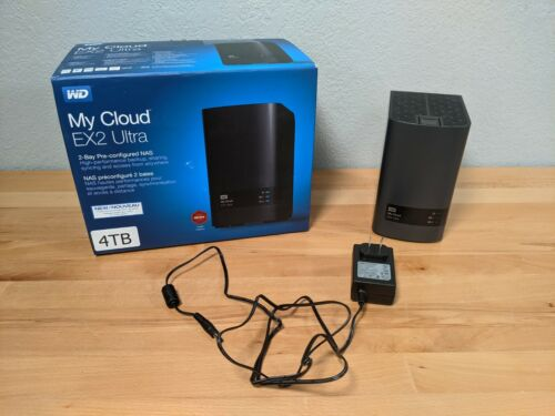 WD My Cloud EX2 Ultra 4TB Network Attached Storage