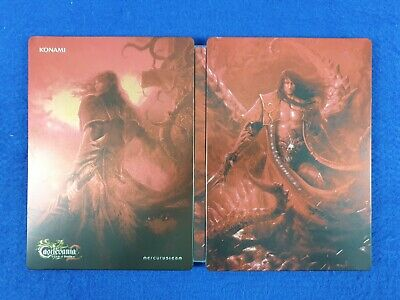 CASTLEVANIA LORDS OF SHADOW 2 Steelbook Case ONLY *NEW* G1 Size XBOX 360 PS3 G1 Shadow