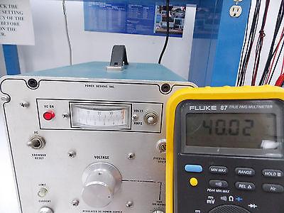 Power Designs Inc. Regulated Dc Power Supply 0-40v 0-5a Model 4050